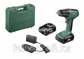 """Аккумуляторная дрель-шуруповерт """"Bosch"""" UniversalDrill18 (2 акк.) кейс"""