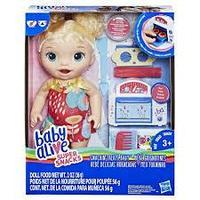 Кукла Hasbro Baby Alive Малышка и еда