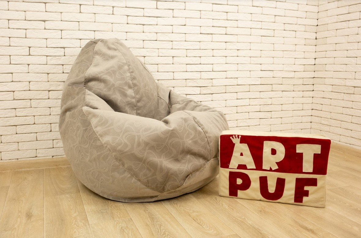 Пошив и печать на кресле мешке/груше