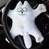 """Пошив и печать на """"кот на липучках в машину"""", фото 2"""