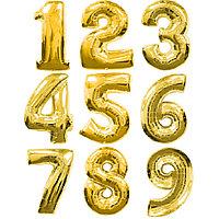 Фольгированные шары цифры