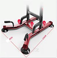 Тренажер стойка BILLNA 5 в 1 (турник-брусья-отжимания-пресс-жим лежа )вес до 150кг