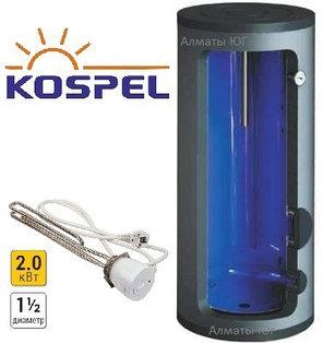 Напольный электрический накопительный водонагреватель Kospel SE Termo 200, фото 2