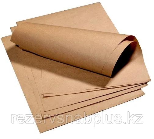 Крафт-бумага оберточная в листах 80гр, 84* 60 (А1) см 24 л. - фото 2