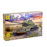 Сборная модель Советский танк Т-34-85 масштаб :72