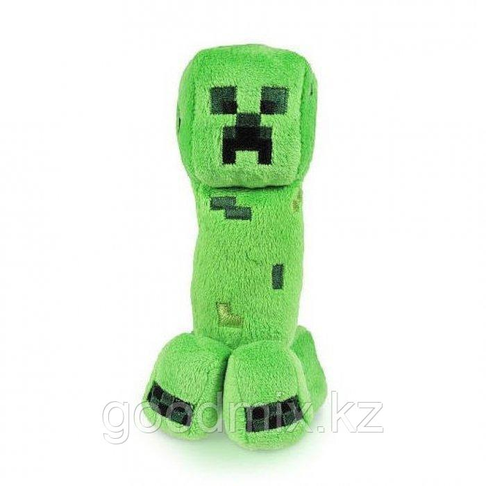 Мягкая игрушка Крипер Майнкрафт (Creeper Minecraft) 22 см