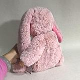 Кукла honey bunny плюшка в костюме зайца ( спящая) 40 см, фото 8