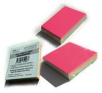 Бумага самоклющиеся для этикеток – заметок 100х100 мм, 100 л., MIX