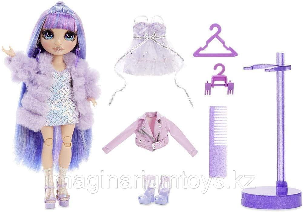 Кукла Реинбоу Хай фиолетовая Rainbow High Surprise Violet Willow - фото 5