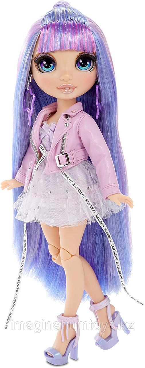 Кукла Реинбоу Хай фиолетовая Rainbow High Surprise Violet Willow - фото 2
