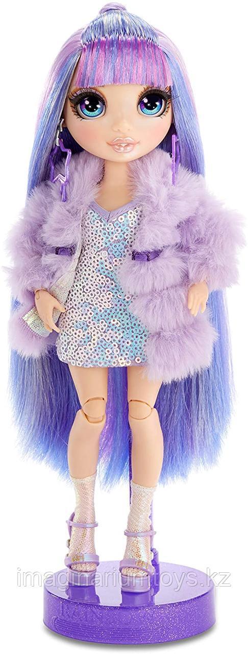 Кукла Реинбоу Хай фиолетовая Rainbow High Surprise Violet Willow - фото 7