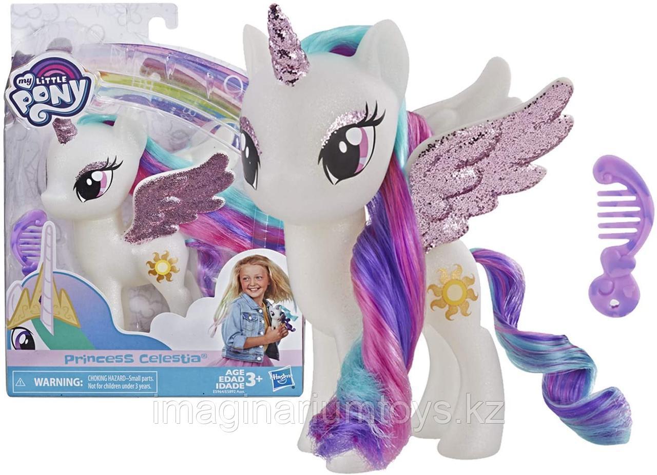 Пони Селестия глиттер My Little Pony