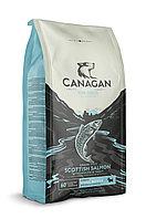 CANAGAN Grain Free, Scottish Salmon, корм 2 кг для мелких собак всех возрастов и щенков, Шотландский лосось