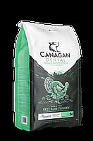 CANAGAN Grain Free, FREE-RUN TURKEY DENTAL, 6 кг для мелких собак и щенков, Индейка, ухода за полостью рта