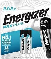 Элемент питания Energizer ENR MAX PLUS E92/AАA BP2 - 2 штуки в блистре