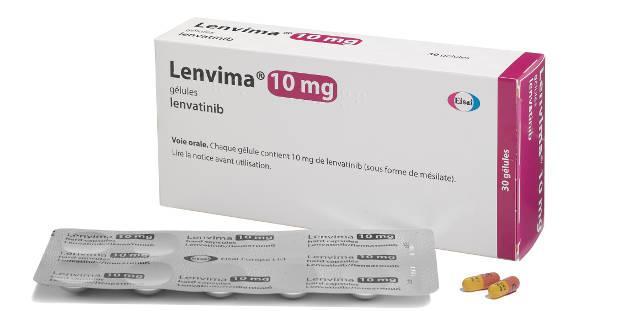 Ленвима (ленватиниб) Lenvima (lenvatinib) 30 капс. (4 мг, 10 мг) (Европа)
