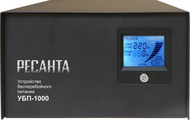 Источник бесперебойного питания РЕСАНТА УБП-1000