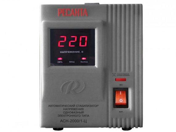Стабилизатор напряжения РЕСАНТА АСН-2000/1-Ц, фото 2