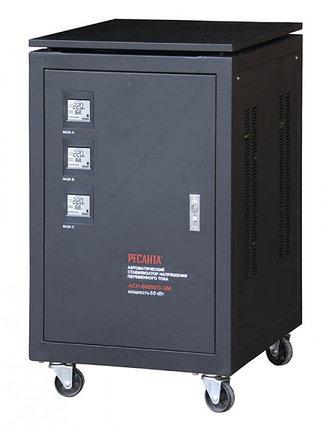 Стабилизатор напряжения РЕСАНТА АСН-60000/3-ЭМ + Мультиметр РЕСАНТА YX360TRN, фото 2