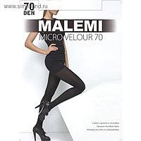 Колготки женские MALEMI Micro Velour 70 цвет чёрный (nero), р-р 4