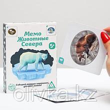 Настольная игра «Мемо. Животные Севера», 50 карточек