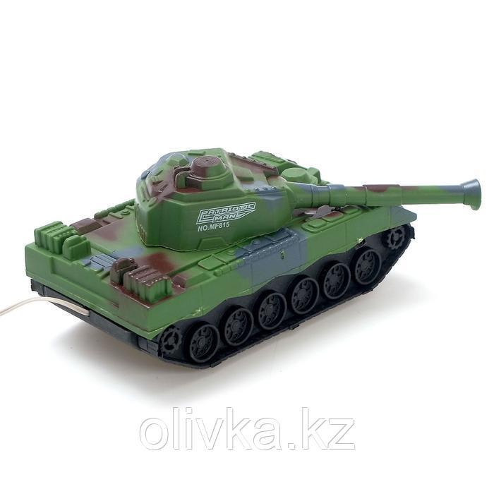 Танк «Тигр», на дистанционном управлении, цвета МИКС - фото 3