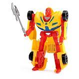 Робот-трансформер «Суперкар», цвета МИКС, фото 4