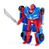Робот-трансформер «Суперкар», цвета МИКС, фото 10