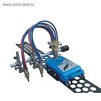 Газорезательная машина Optima CG1-100 (XLCG1002), рез до 100 мм, 220В, 2 горелки, эл. привод   39894