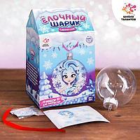 Набор для творчества «Украшаем новогодний шар: холодная принцесса»