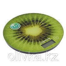 Весы кухонные HOMESTAR HS-3007, электронные, до 7 кг, зелёные
