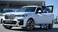 Выдвижные электрические пороги BMW Х5,Х6,Х7