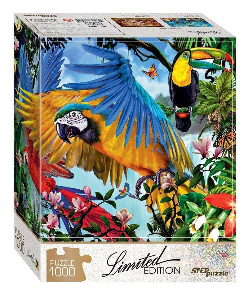 Пазл Limited Edition - Попугаи, 1000 элементов