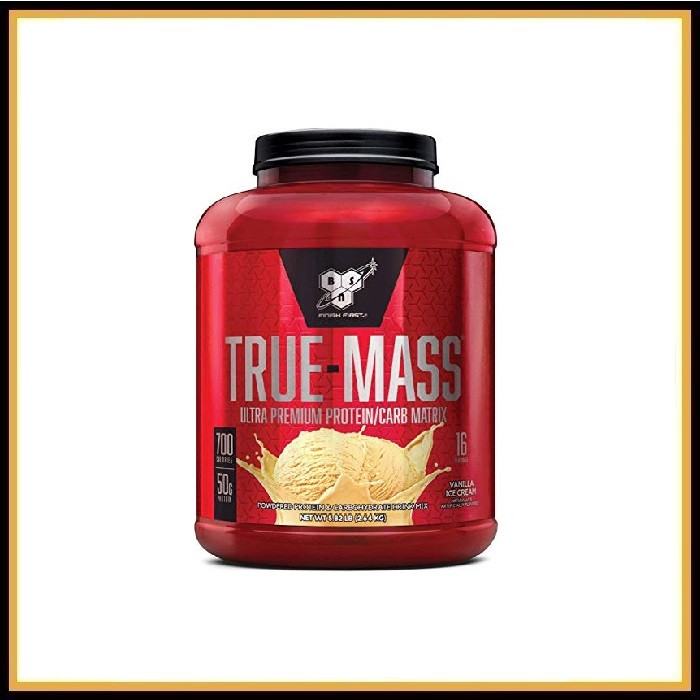 BSN True-Mass Weight Gainer 2,6кг (клубника)