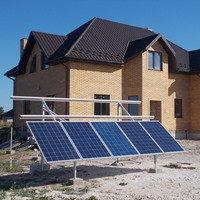 Автономная солнечная электростанция на 10 кВт/час