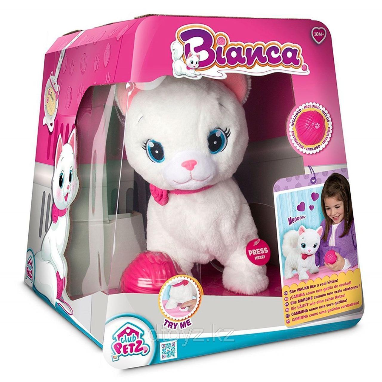 Club Petz Кошка Bianca интерактивная IMC toys