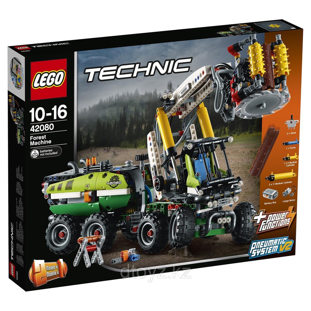Lego Technic 42080 Лесозаготовительная машина
