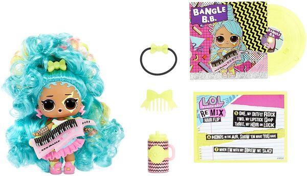ЛОЛ Ремикс Хэир Флип музыкальные куклы LOL Surprise Remix Hair Flip - фото 3