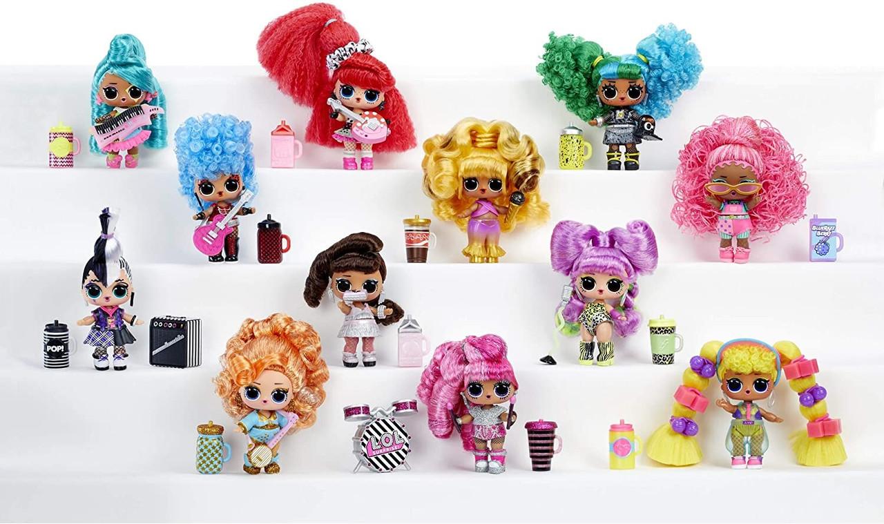 ЛОЛ Ремикс Хэир Флип музыкальные куклы LOL Surprise Remix Hair Flip - фото 5