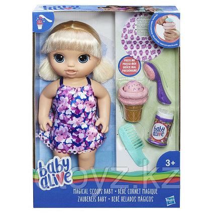 Baby Alive Малышка с мороженным Hasbro C1090