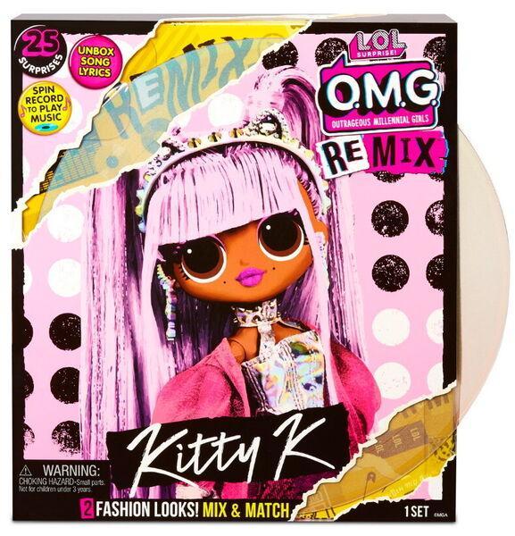 Кукла ЛОЛ ОМГ Ремикс Кити Квин LOL OMG Remix Kitty K - фото 1