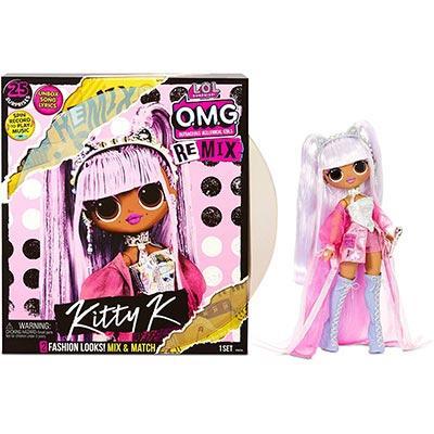 Кукла ЛОЛ ОМГ Ремикс Кити Квин LOL OMG Remix Kitty K - фото 3