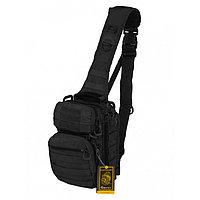 Тактический Рюкзак-Сумка GONGTEX Rover Sling Hexagon Backpack, Черный (Black)