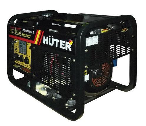 Портативный дизельный генератор HUTER LDG14000CLE, фото 2