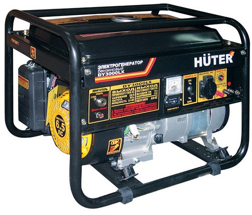 Портативный бензогенератор HUTER DY3000LX, фото 2