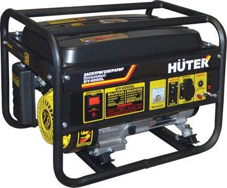 Портативный бензогенератор HUTER DY4000L, фото 2