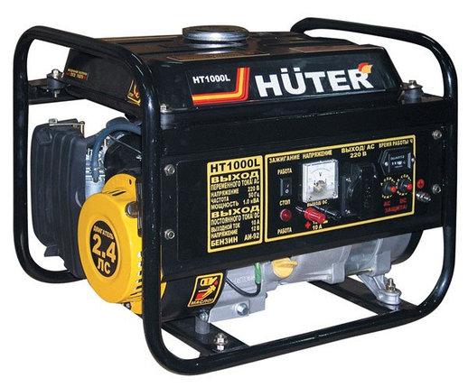 Портативный бензогенератор HUTER HT1000L, фото 2