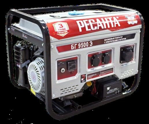 Электрогенератор БГ 9500 Э Ресанта, фото 2