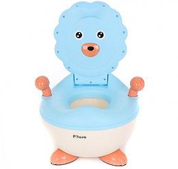 Детский горшок Pituso Львёнок Голубой Blue