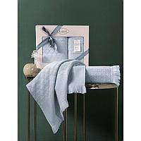 Комплект полотенец Monard 50x90 см, 70х140 см, цвет ментол